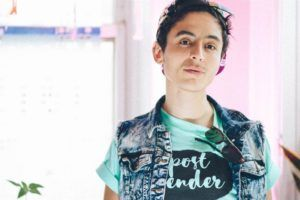 Pidgeon Pagonis, activista intersexual