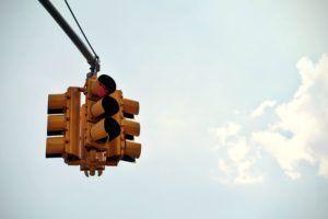 semáforo enfado